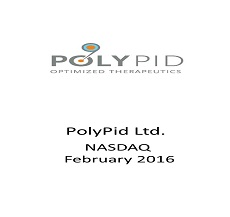 ZAG-S&W represented Polypid Ltd. in completion of $22 Million private equity financing