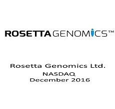 ZAG-S&W represented Aegis Capital Corp. as Lead Placement Agent in a private placement offering of Rosetta Genomics