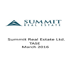 ZAG-Sַ&W represented Summit Real Estate Group Ltd. in a private placement worth $120 million