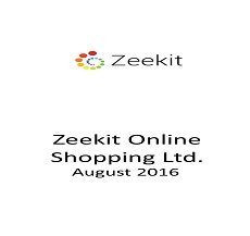 Attorneys Mor Limanovich and Marie Orlovsky represented Zeekit Ltd. in a finanacing round of $9 million