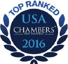 US Office Ranked in the 2017 Edition of Chambers USA